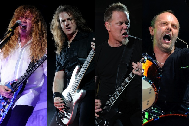 Megadeth Vs. Metallica:  An Age Old Metal Rivalry