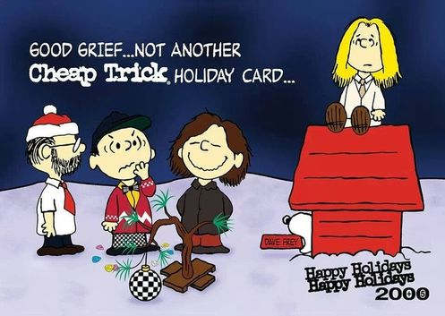 Have A Rockin' Christmas with Cheap Trick!