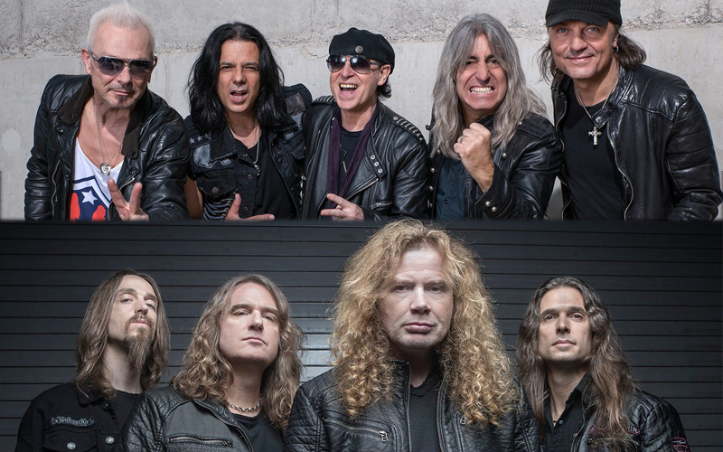 Concert Review – Megadeth & The Scorpions (Live at the L.A. Forum)
