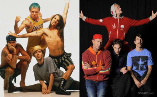 Then & Now – Red Hot Chili Peppers
