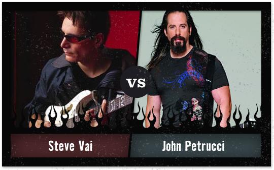 Steve Vai Vs. John Petrucci