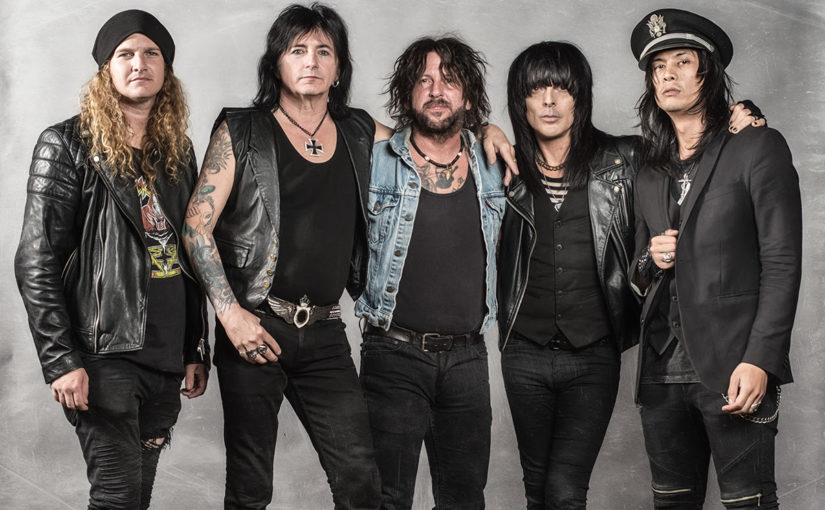 L.A. Guns Reunion and New Album 'The Missing Peace'!