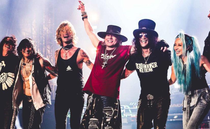 Guns N Roses – Proving Rock Isn't Dead Reeling in 151 Million in 2017