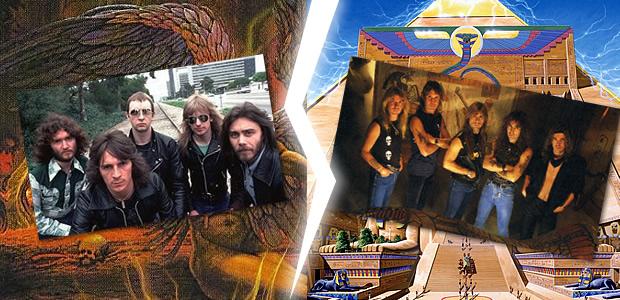 Judas Priest Vs. Iron Maiden:  Who's Stronger?