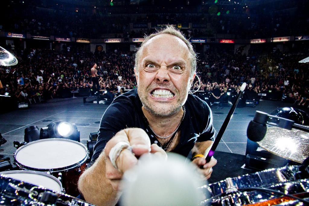 In Defense Of Lars Ulrich S Drumming Alexrox Com